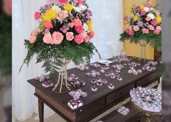 Recanto do Paraíso - Decoração com flores